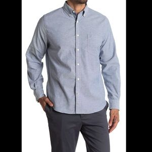 MWT Nautica Solid Oxford Stretch Shirt